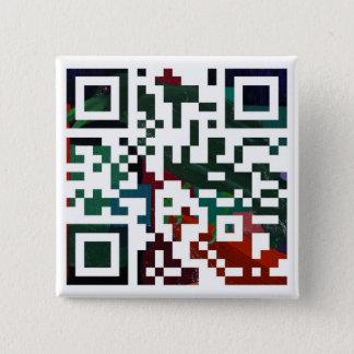 Colorful Q R Code Button