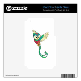 Colorful Quetzal! iPod Touch 4G Decals