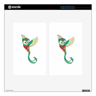 Colorful Quetzal! Kindle Fire Decal
