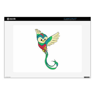 Colorful Quetzal! Laptop Decals