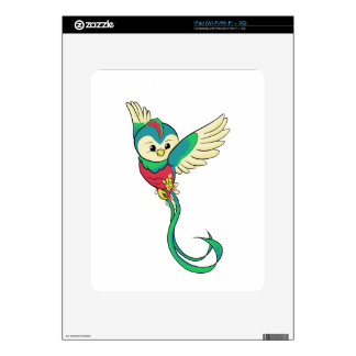 Colorful Quetzal! Skins For iPad