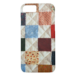 Colorful quilt pattern iPhone 7 case