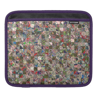Colorful Quilt Pattern Sleeve For iPads