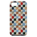 Colorful quilt squares pattern iPhone 5/5S case