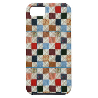 Colorful quilt squares pattern iPhone SE/5/5s case