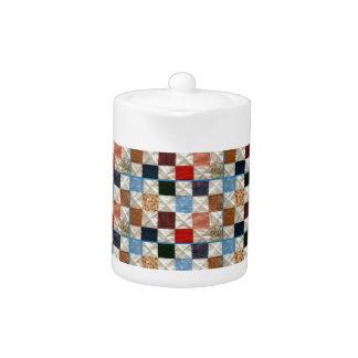 Colorful quilt squares pattern