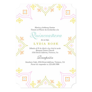 Colorful Quince Card