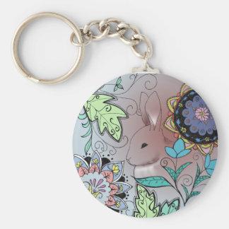Colorful Rabbit Key Chain