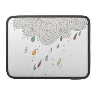 Colorful Rain Cloud Sleeves For MacBooks