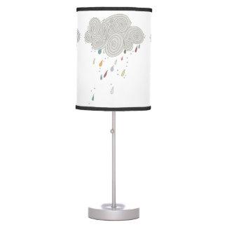 Colorful Rain Cloud Table Lamp