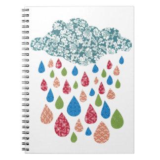 Colorful Rain Notebook