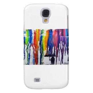 Colorful Rain Samsung Galaxy S4 Cover