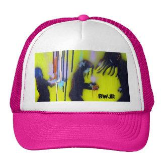 Colorful Rain Trucker Hat