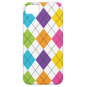 Colorful Rainbow Argyle Diamond Pattern Teen Gifts iPhone 5 Cover