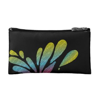 Colorful Rainbow Butterfly Change Purse
