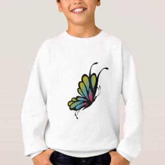 Colorful Rainbow Butterfly Sweatshirt