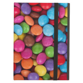 Colorful rainbow candy sweets iPad air covers