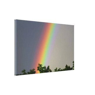 Colorful Rainbow Canvas Print