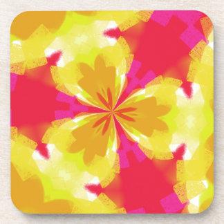 Colorful Rainbow Coaster