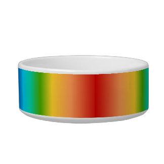 Colorful Rainbow color gradient Bowl