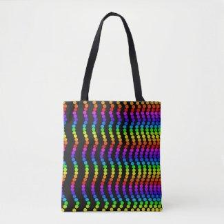 Colorful Rainbow Colors Beach Bags