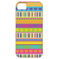 Colorful Rainbow Cute Patterns and Shapes Gifts iPhone 5 Cover
