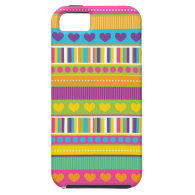 Colorful Rainbow Cute Patterns and Shapes Gifts iPhone 5 Cases