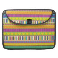 Colorful Rainbow Cute Patterns and Shapes Gifts Sleeves For MacBook Pro