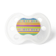 Colorful Rainbow Cute Patterns and Shapes Gifts Baby Pacifiers