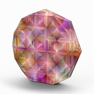 Colorful Rainbow Diamond Design Award
