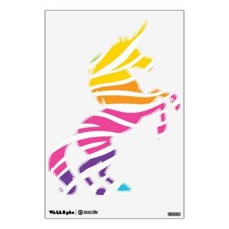 Colorful Rainbow Fantasy Unicorn Wall Decals