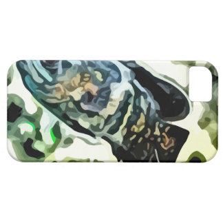 colorful Rainbow fish painting. iPhone SE/5/5s Case