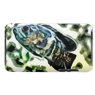 colorful Rainbow fish painting. iPod Touch Cover