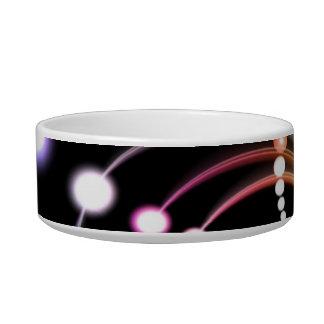 Colorful Rainbow Fractal Art Bowl