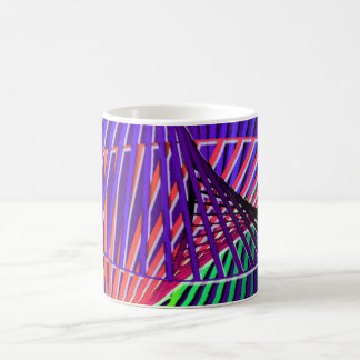 Colorful Rainbow Helix Coffee Mug