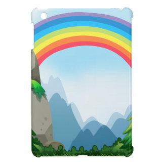 Colorful rainbow in the nautre iPad mini cases