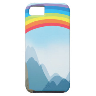 Colorful rainbow in the nautre iPhone SE/5/5s case
