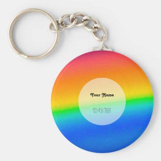 Colorful Rainbow Keychain