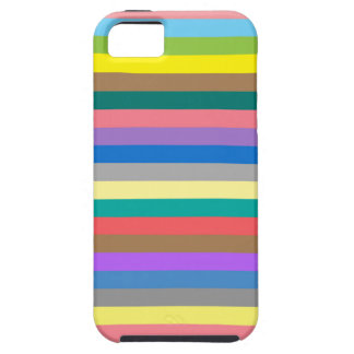 Colorful rainbow lines pattern iPhone SE/5/5s case