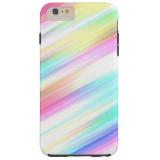 Colorful Rainbow Pattern Tough iPhone 6 Plus Case