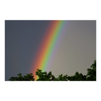 Colorful Rainbow Poster