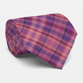 Colorful rainbow shaded stripes tie