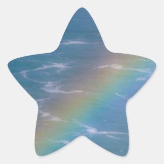 Colorful Rainbow Star Sticker