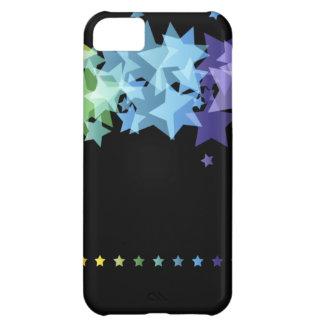Colorful Rainbow  Stars iPhone 5C Case