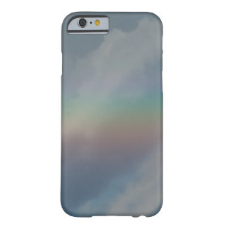 Colorful Rainbow stripe in the sky Barely There iPhone 6 Case