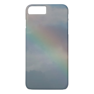 Colorful Rainbow stripe in the sky iPhone 7 Plus Case