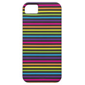 Colorful Rainbow Stripes Pattern Gifts for Teens iPhone 5 Case