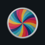 "Colorful Rainbow Swirl Bluetooth Speaker<br><div class=""desc"">Colorful Rainbow Swirl.</div>"