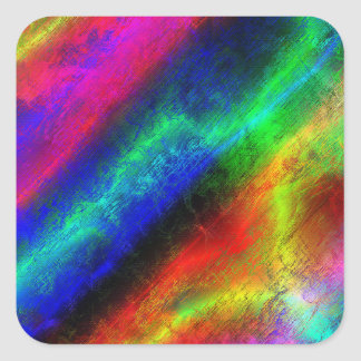 colorful rainbow texture sticker