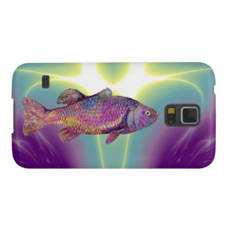 COLORFUL RAINBOW TROUT GALAXY S5 CASE